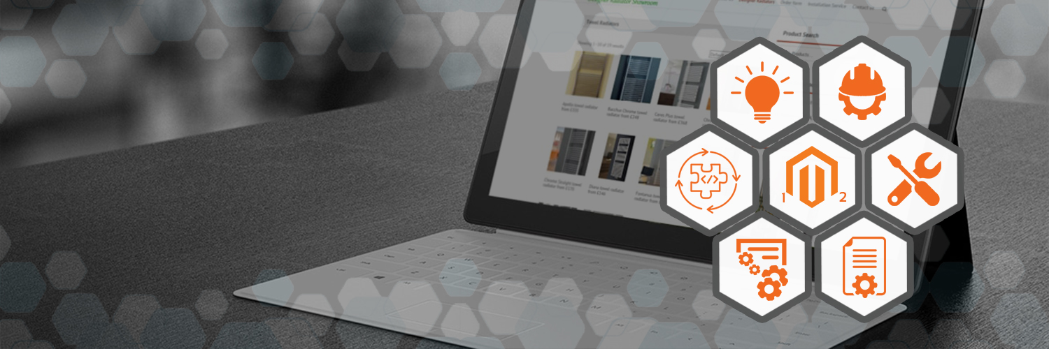 Home magento banner