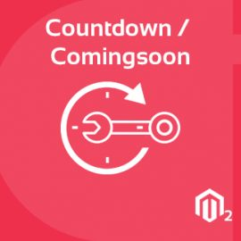 Countdown / Coming soon Extension