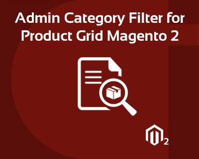 Magento 2 admin category filter for product grid