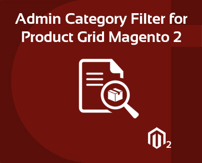 Product Grid Category Filter Magento 2 Extension
